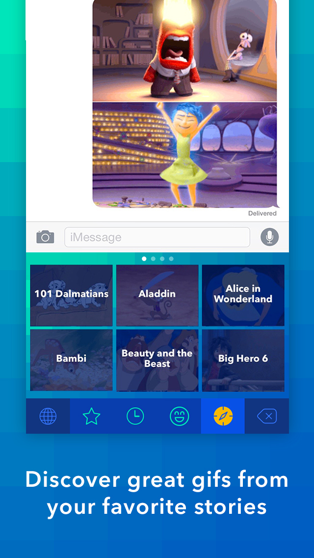 Disney Gif + Keyboard screenshot 5