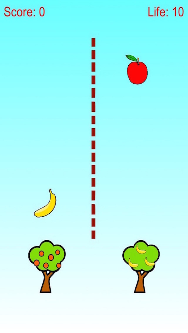 Apple and Banana Defense - Tree Shoot Fruit screenshot 2