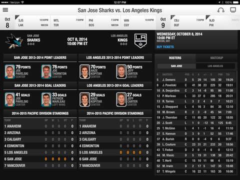 NHL screenshot 7