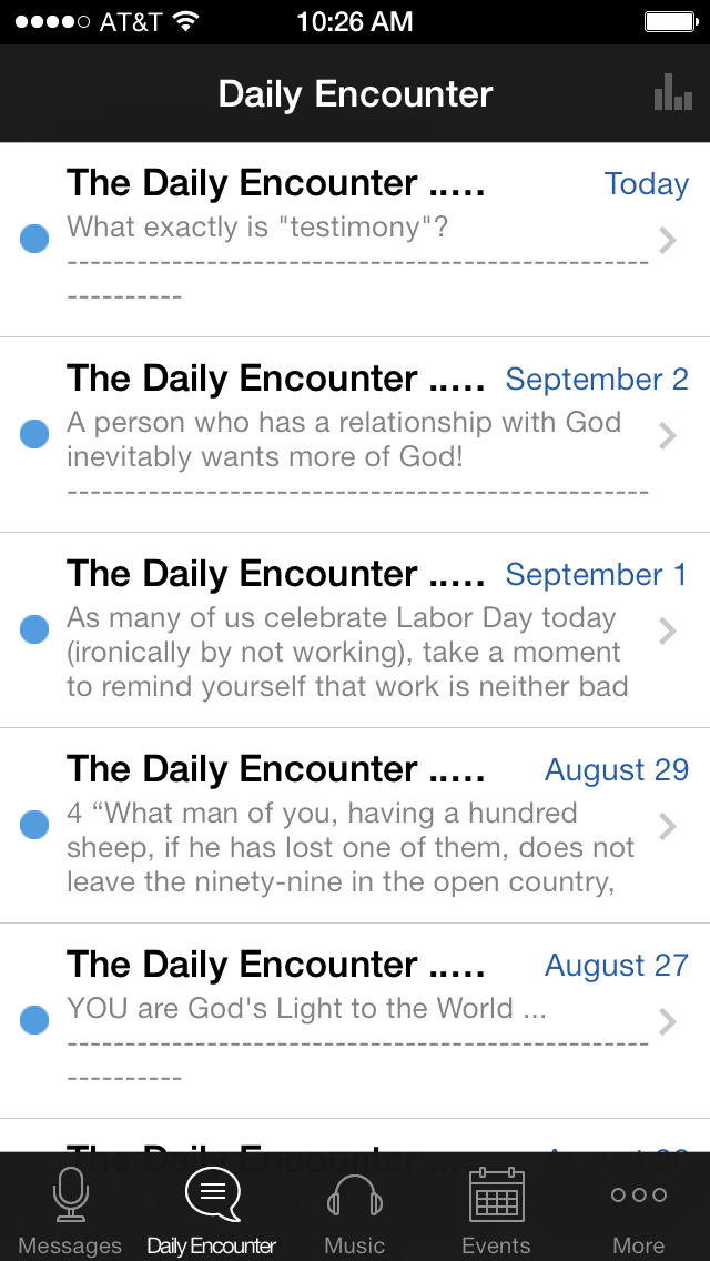 Christ Community Darien screenshot 2