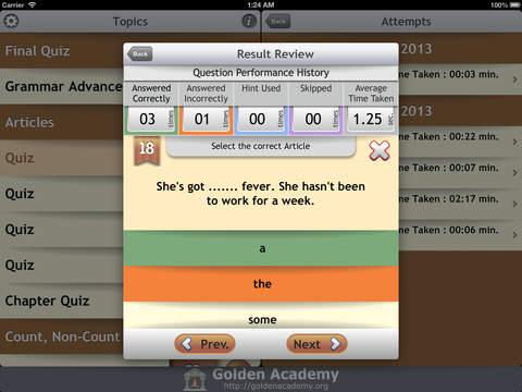 Grammar Expert : English Grammar Advanced screenshot 10