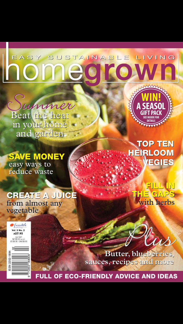 Home Grown Magazine screenshot 1
