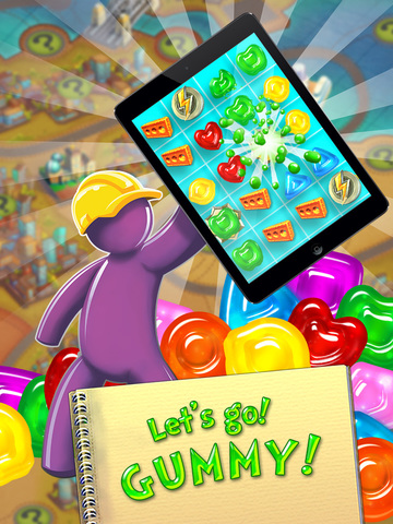 Gummy Drop! – A Match 3 Game screenshot 10