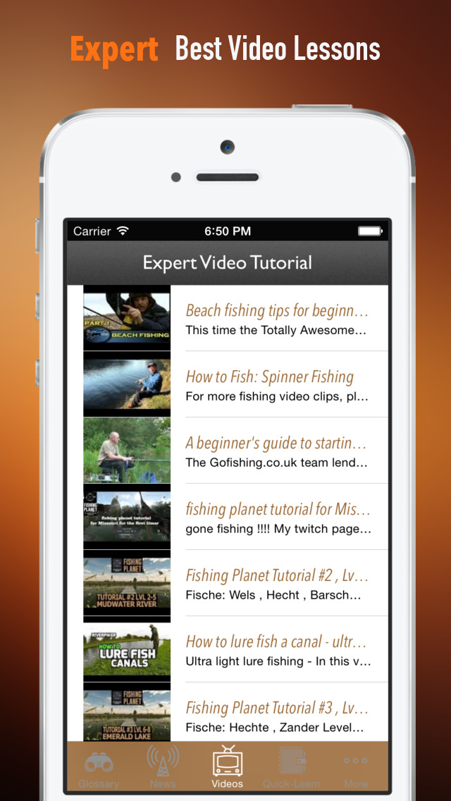 Fishing Beginners Guide: Tutorial Video Lessons and Latest Trends screenshot 3