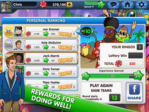 Wild Party Bingo:  Best Social Multiplayer Bingo Game screenshot 9