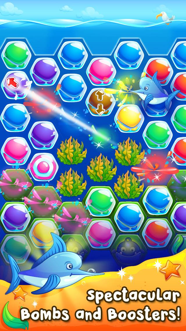 Pearl Paradise - Hexa Block Match 3 Puzzle screenshot 3