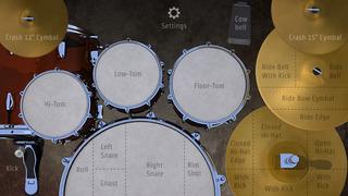 DrumKick for iPhone screenshot 1