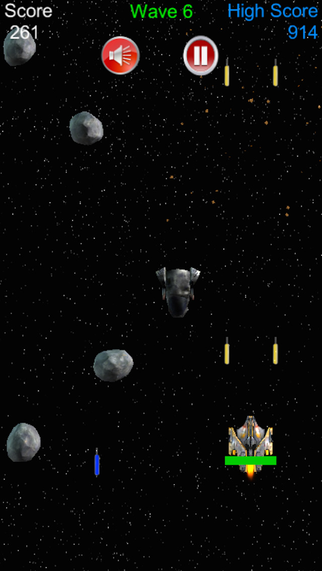 Arcade Space Shooter Pro Full Version screenshot 3