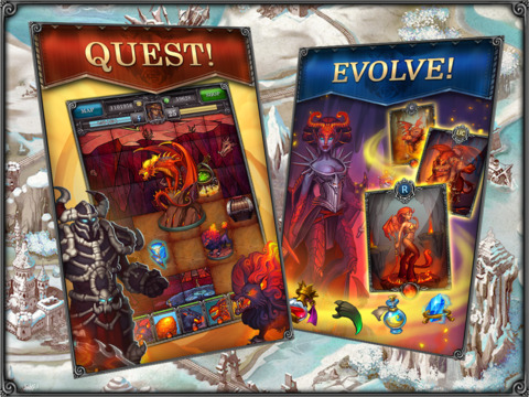Dungeons of Evilibrium (RPG) – Card Battle Role-playing Game screenshot 7