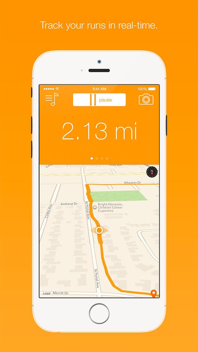 Runr - GPS Run Tracker screenshot 2