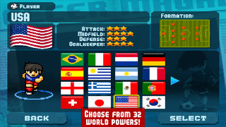 Pixel Cup Soccer screenshot 4