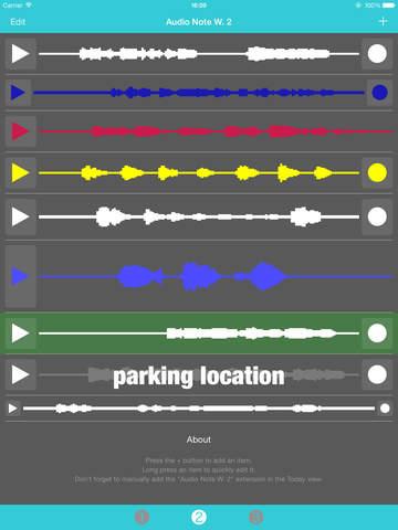 Audio Note Widget screenshot 10