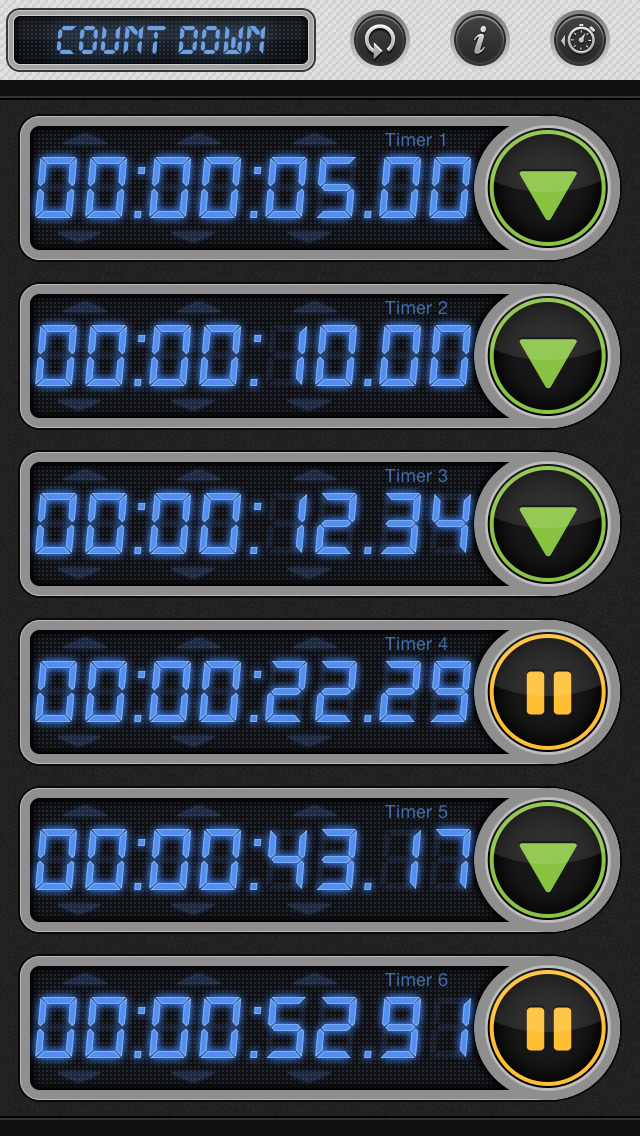 Stopwatch & Timer: Pro Multiple Count Down/Up screenshot 3