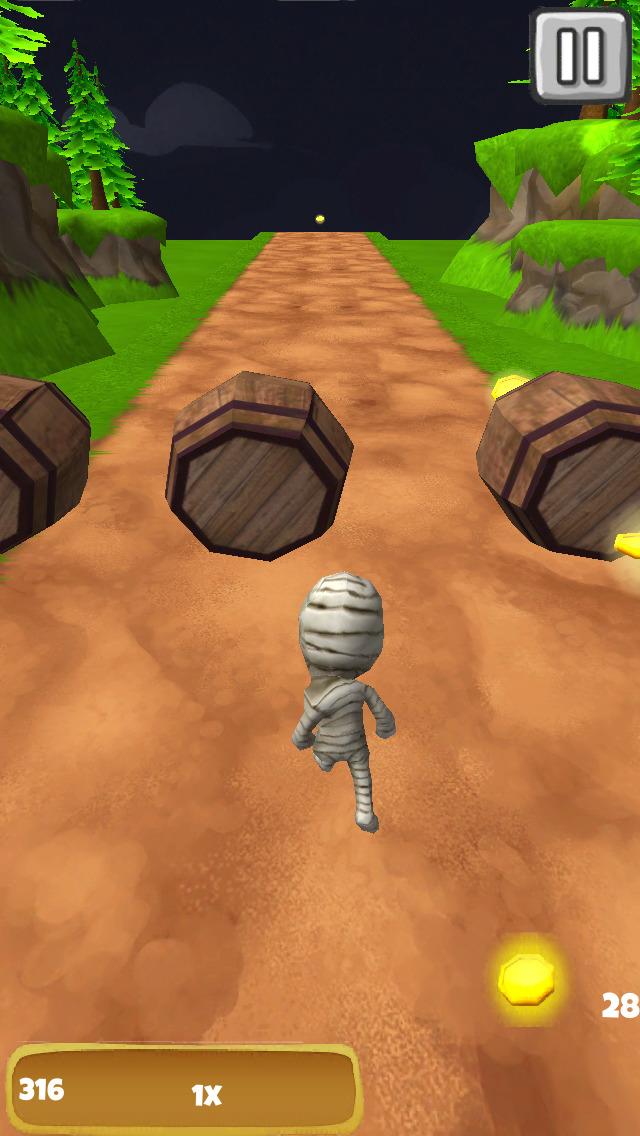 Ancient Mummy: Tomb Run - FREE Edition screenshot 3