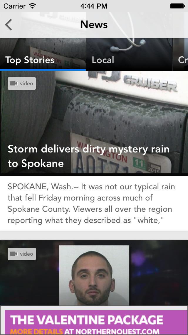 KREM 2 Spokane News screenshot 1