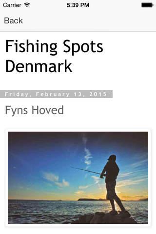 Fishing Spots Denmark - náhled