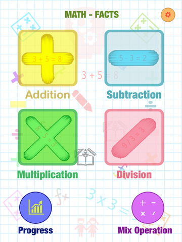 Math Fact Montessori : Addition, Subtraction, Multiplication, Division And Mix Operation screenshot 6