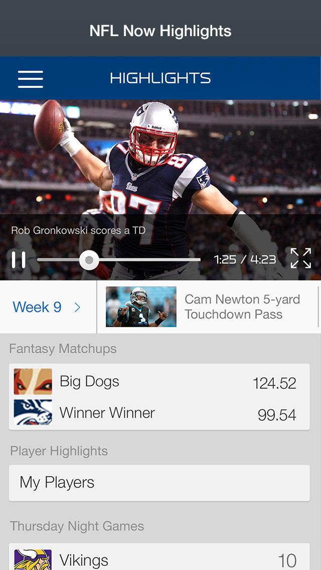NFL Now screenshot 3