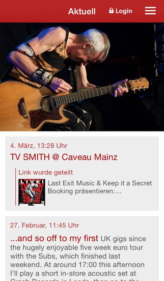 TV Smith screenshot 1