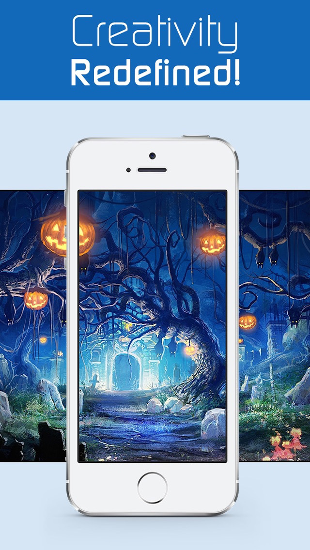 Season Wallpapers for Halloween,Christmas,New Year & More - HD Retina Backgrounds & Unlimited Cool Musics screenshot 3