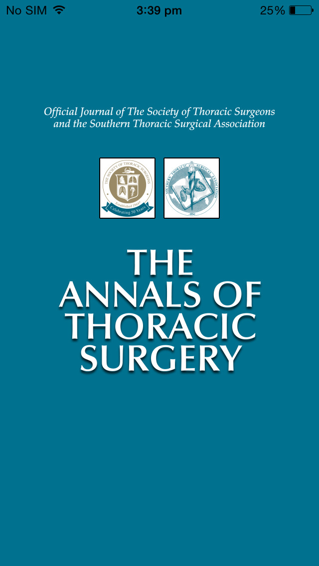 The Annals of Thoracic Surgery screenshot 1