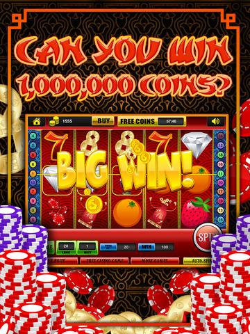 Ace Classic Slots China Dragon Dynasty - Gold Fortune Slot Machine Casino Games Free screenshot 10