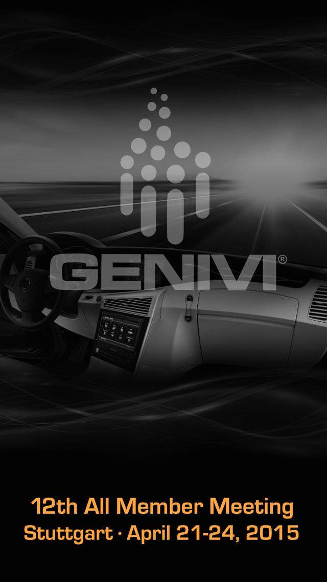 GENIVI 2015 AMM screenshot 1
