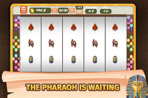 Slots - Pharaoh of Egypt - náhled