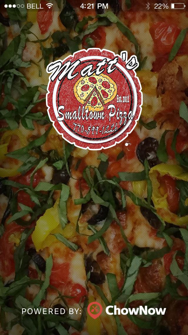Matt's Smalltown Pizza screenshot 1