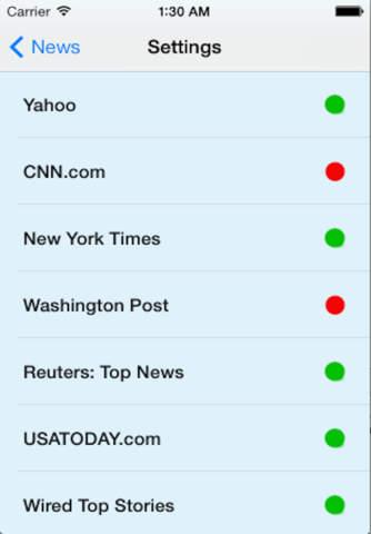 FrontNews - náhled