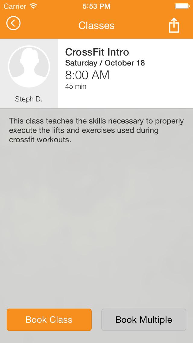 Studio Fitness screenshot #3
