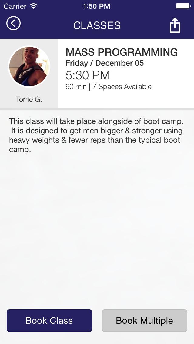 Fitness Love ATL screenshot #4
