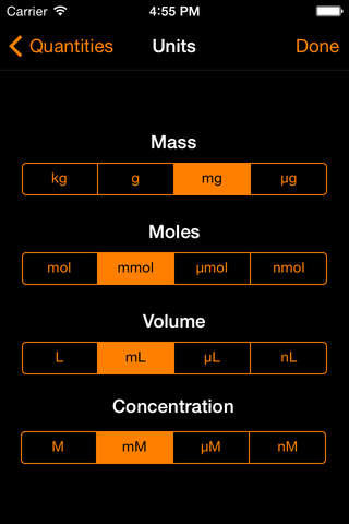ChemTrix Chemistry Calculator - náhled