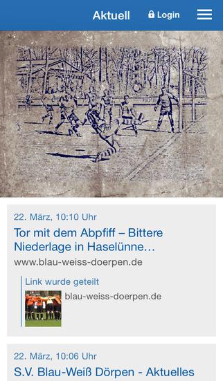 S.V. Blau-Weiß Dörpen e.V. screenshot 1