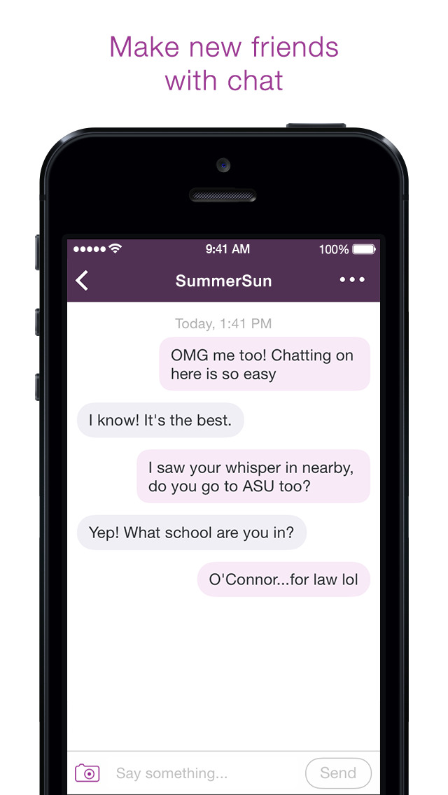 Whisper - Share, Express, Meet screenshot 4
