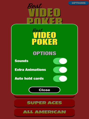 Best Video Poker screenshot 10