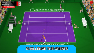 Stick Tennis Tour screenshot 2