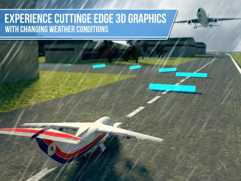 Plane Simulator PRO - landing, parking and take-off maneuvers - real airport SIM screenshot 9