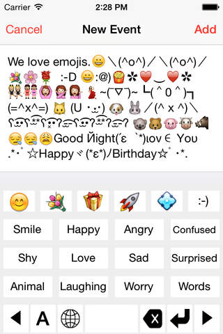 Emoji Kaomoji Smiley - náhled