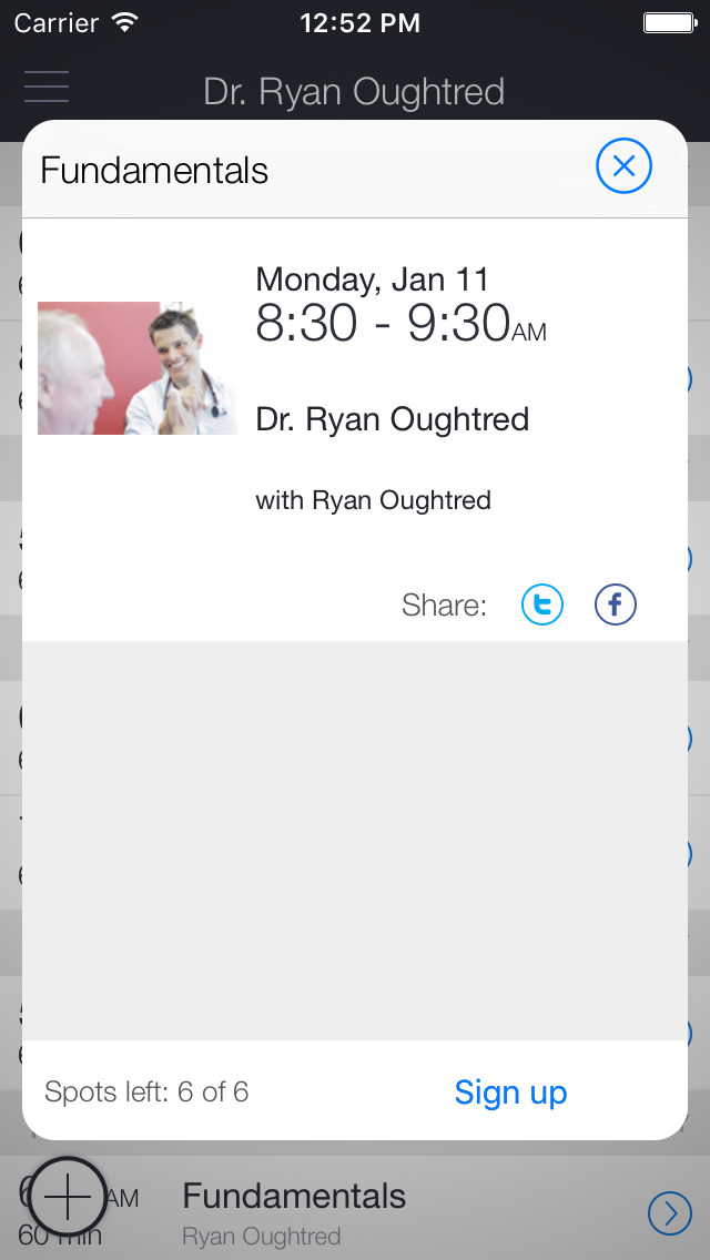 Dr. Ryan Oughtred screenshot 2