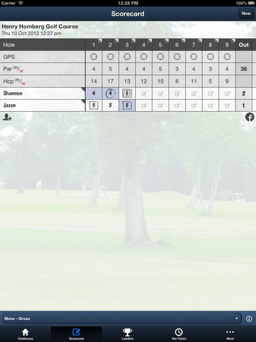 Henry Homberg Golf Course screenshot 9