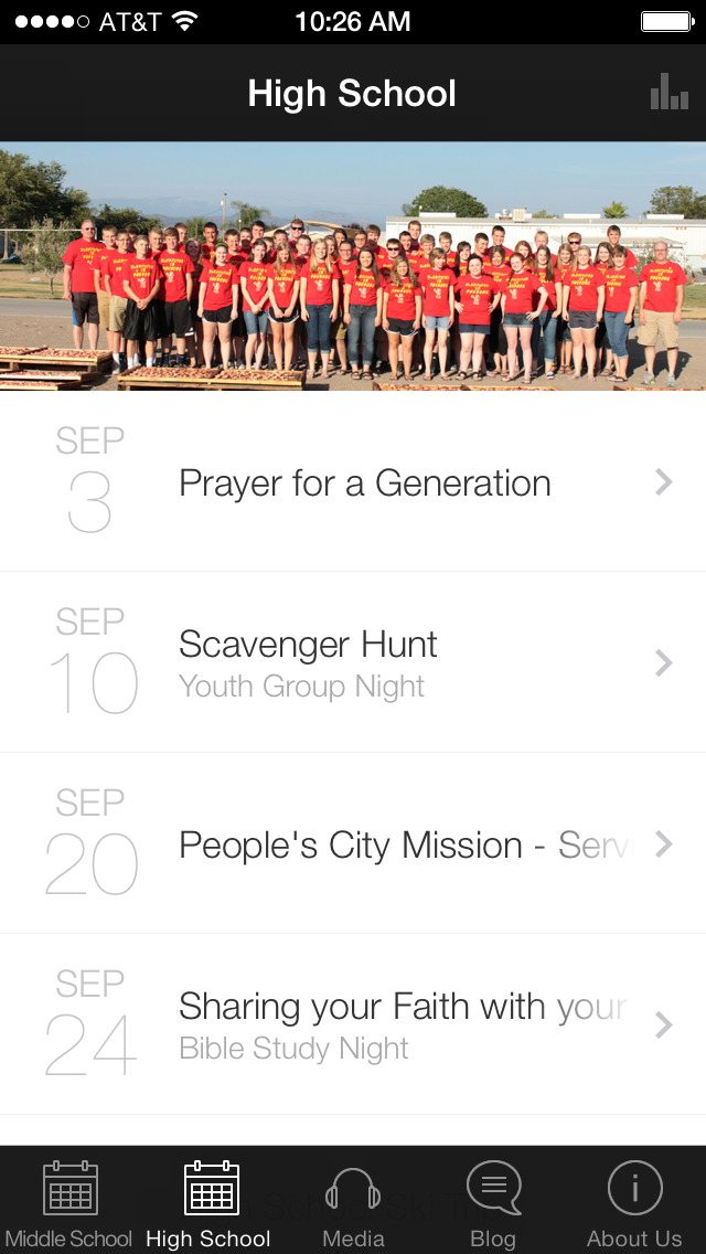 Messiah Youth Ministry screenshot 2