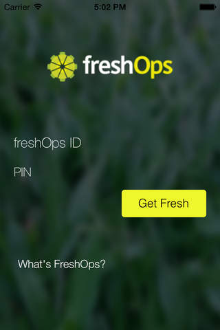 freshOps - náhled