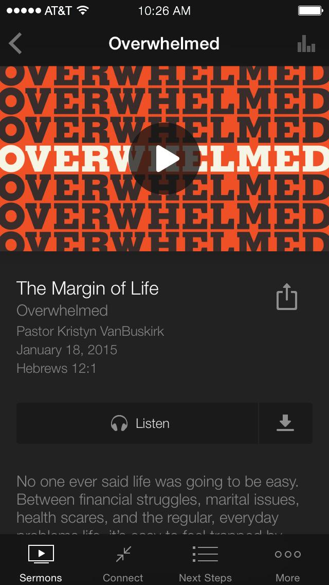 Centerpoint Church App screenshot 3