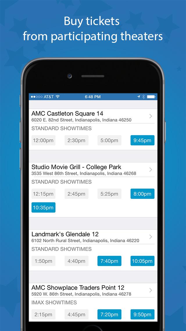 Flixster - Showtimes + Tickets screenshot #4