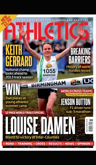 Athletics Weekly Magazine screenshot 3