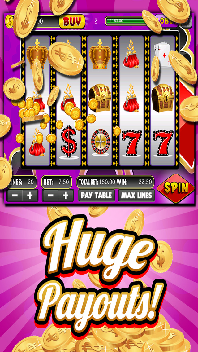 A Classic Vegas Slots Jackpot - Lucky Casino Slot Machine Games With Huge Jackpots HD screenshot 2