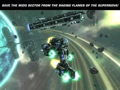 Galaxy on Fire 2™ HD screenshot 7