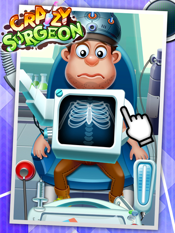 Crazy Surgeon - casual free kids games & doctor game screenshot 5