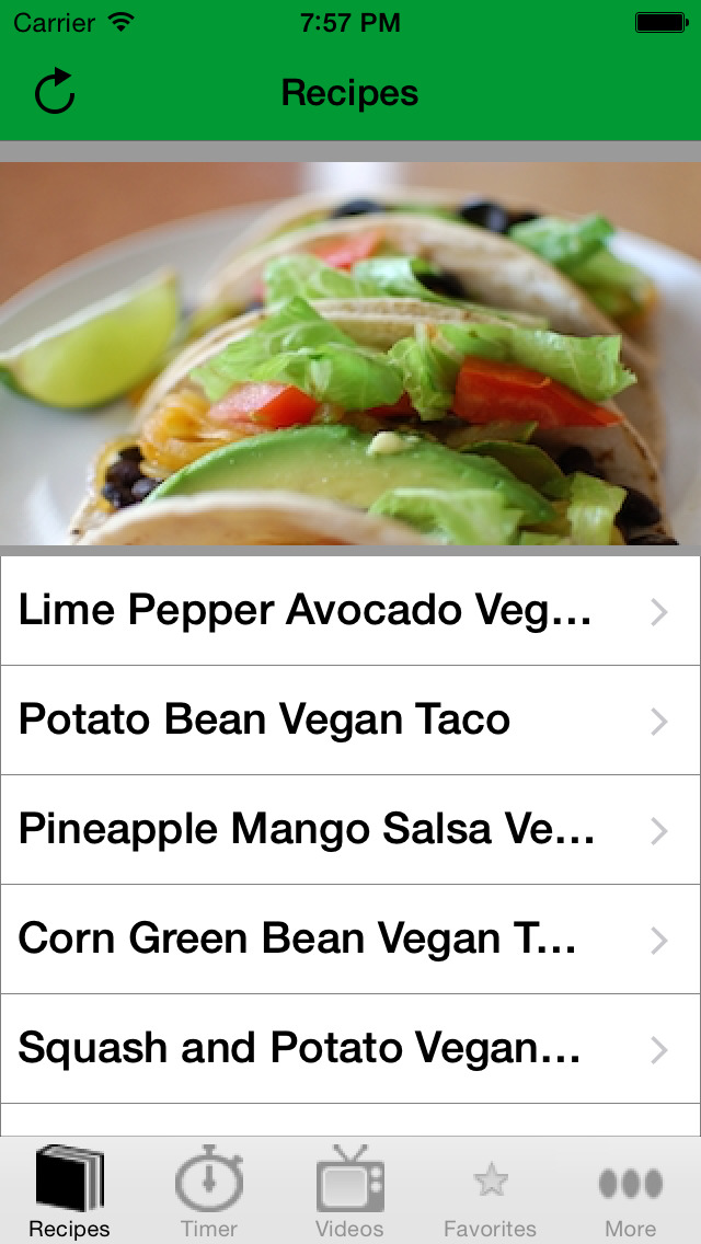 Vegan Taco Recipes screenshot 2